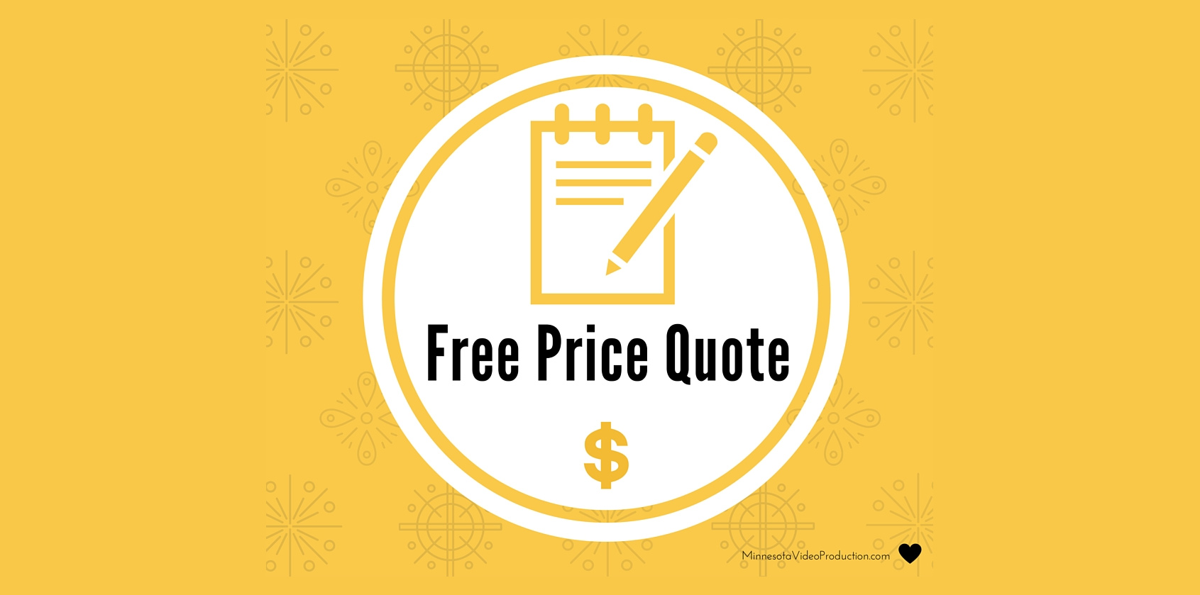 Free Price Quote on your video production rfp