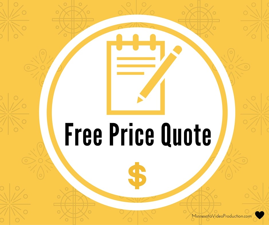 Free corporate video production rfp pricing quote